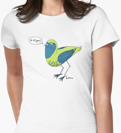 Final words from a bird with unkown origins T-Shirt