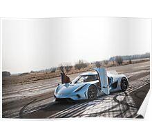 Koenigsegg Regera Poster