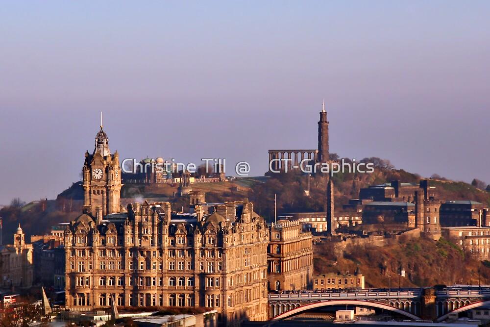 Edinburgh, Scotland - A Top-Class European City by Christine Till  @    CT-Graphics