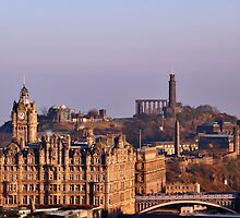 Edinburgh, Scotland - A Top-Class European City by Christine Till  @    CT-Graphics