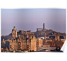 Edinburgh, Scotland - A Top-Class European City Poster