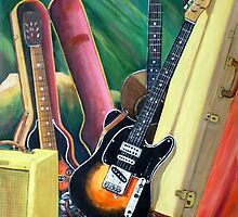 Steve's Guitars by Woodie