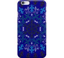 roue de lys (version bleu) iPhone Case/Skin