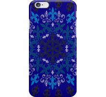 roue de lys (version bleu) iPhone Case/Skin