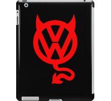 VW DEVIL LOGO iPad Case/Skin
