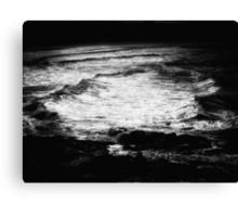 """On Silver Sea's"" Canvas Print"