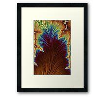 Rainbow Fractal 19 Framed Print