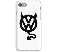 VW DEVIL LOGO iPhone Case/Skin