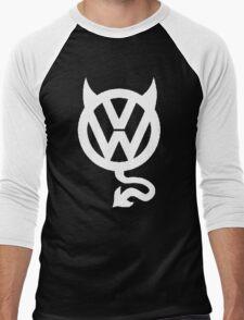 VW DEVIL LOGO Men's Baseball ¾ T-Shirt