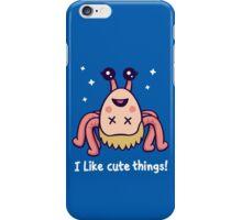 I Like Cute Things! iPhone Case/Skin