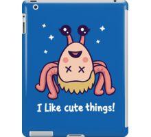 I Like Cute Things! iPad Case/Skin
