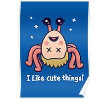 I Like Cute Things! Poster
