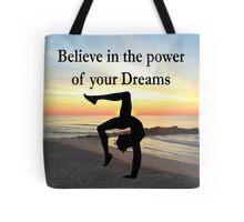 GYMNASTICS DREAMS COME TRUE Tote Bag