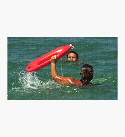 Ocean Rescue Photographic Print
