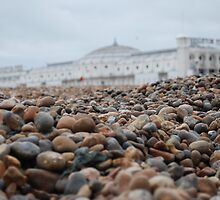 Pebbles & Pier by Geraldine Miller