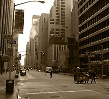 New York Street II by DJHardy