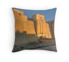 Fort St. Thomas, Malta Throw Pillow