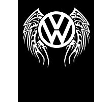 VW Wing LOGO Photographic Print