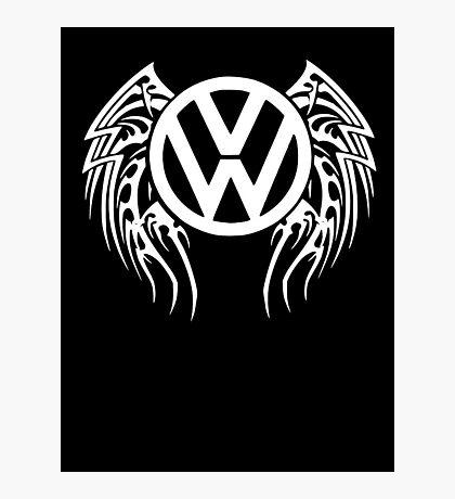 VW Wing LOGO Photographic Print