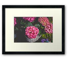 Floral Mood Framed Print