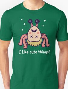 I Like Cute Things! Unisex T-Shirt