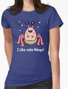 I Like Cute Things! Womens Fitted T-Shirt