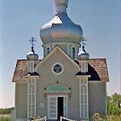 St. Vladimir's Ukrainian Greek Orthodox Church, near Edmonton, Alberta, Canada  by Adrian Paul