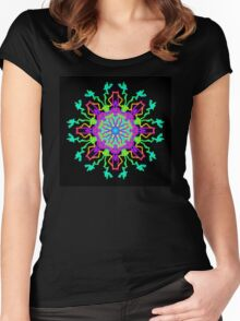 From the Point of Creation Women's Fitted Scoop T-Shirt