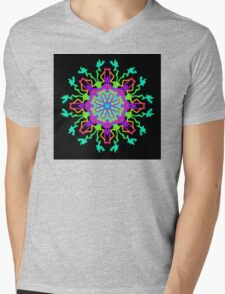 From the Point of Creation Mens V-Neck T-Shirt