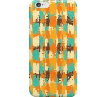 Shredded abstract background iPhone Case/Skin