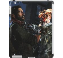 The Las of Us - Joel and a Clicker FIghting  iPad Case/Skin