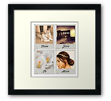 Modern Day Princess: Meg Framed Print