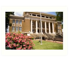 Corinth Courthouse Art Print