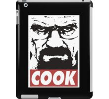 Obey to Heisenberg and Cook. iPad Case/Skin