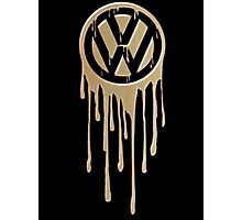 VW Bleeding Photographic Print