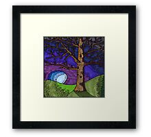 Tree Brown Framed Print