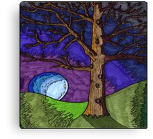 Tree Brown Canvas Print