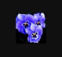 Blue Pansies in Lyme town gardens ,Dorset UK Tank Top