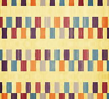 Retro rectangles pattern by lalylaura