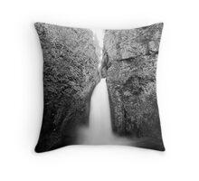 Wahclella Falls , Oregon , United States of America   Throw Pillow