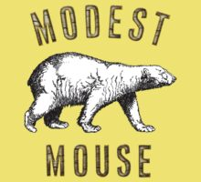 Modest Mouse Bear Kids Tee