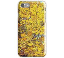Yellow leafs iPhone Case/Skin