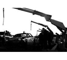 Banger racing - Belle Vue 15.3.09 Photographic Print