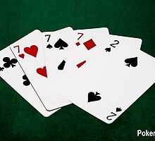 Calendar Poker Hands for 2015 or 2016 by luckypixel