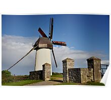 Skerries Windmill Poster