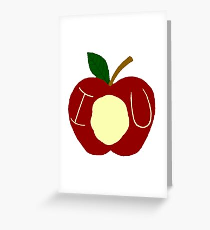 BBC Sherlock - Moriarty's Apple Greeting Card