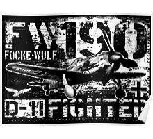 Fw 190 D-11 Poster
