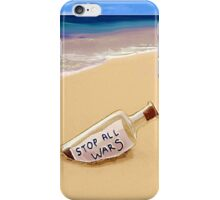 Message in the bottle iPhone Case/Skin