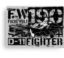 Fw 190 D-11 Canvas Print