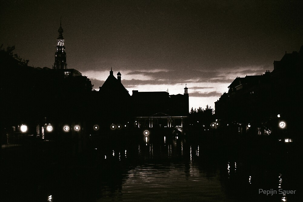 Leiden At Dusk I by Pepijn Sauer
